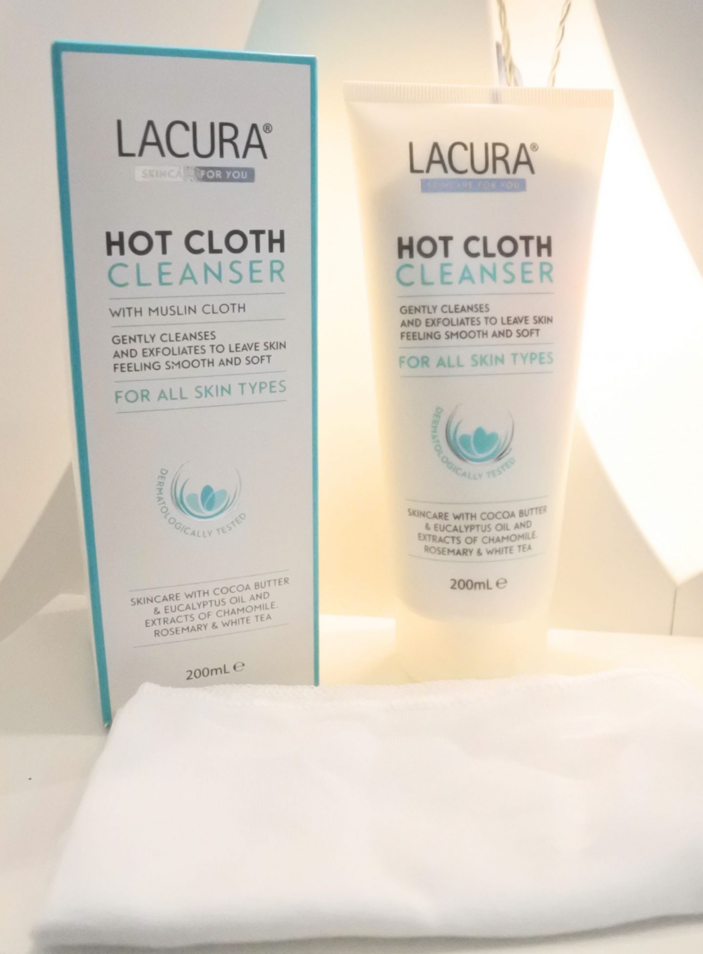 Lacura Aldi hot cloth cleanser