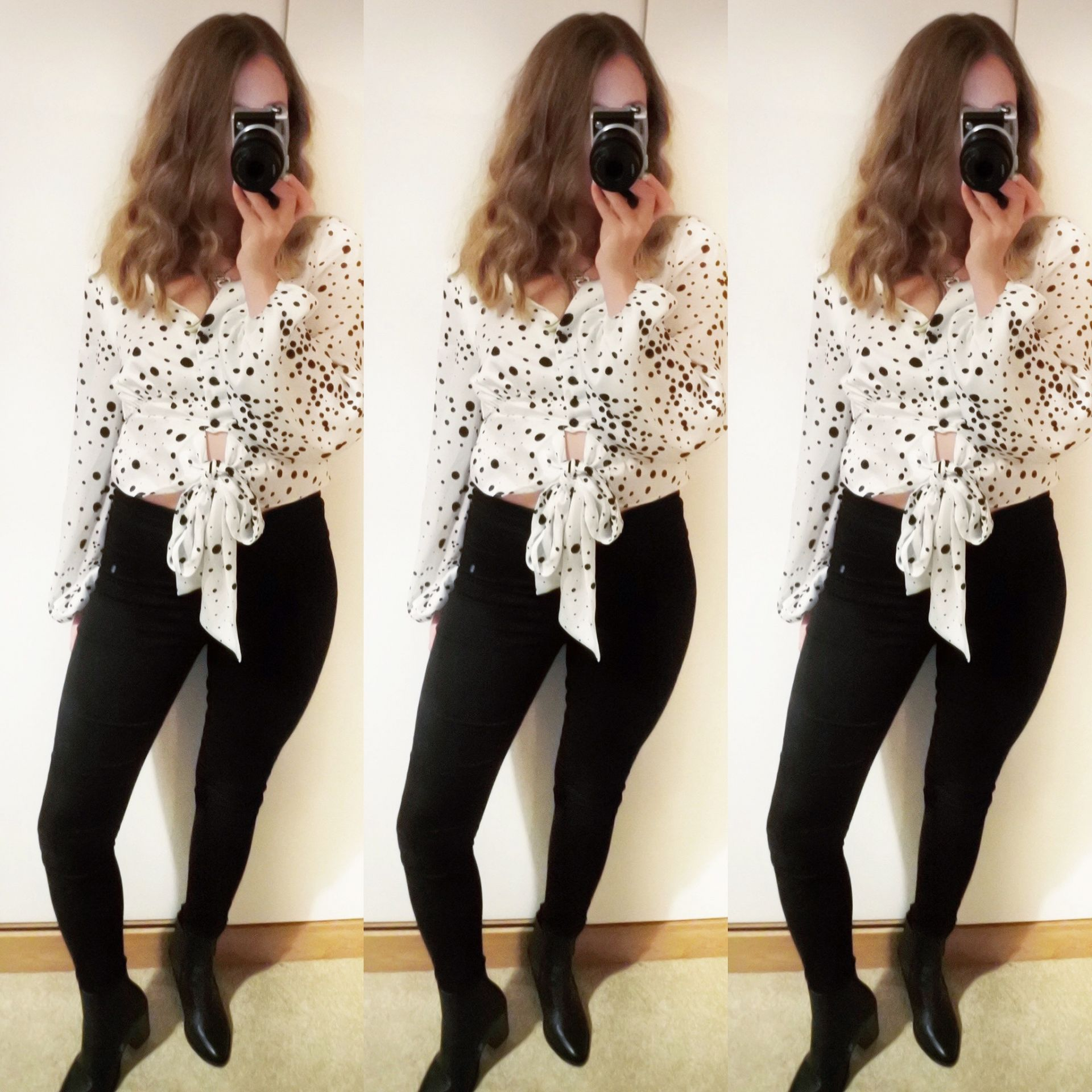 Styling a Print Blouse